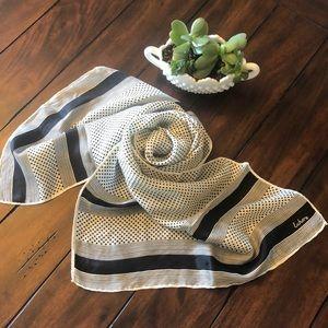 Vintage 80's Echo silk scarf